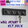 Excellent Key Hanger 4 Hook Wall Mounted Home Decor Best Key Rack Rail Organizer
