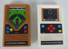 Retro Mattel Electronic Baseball and Basketball Handheld Portable Video Games