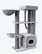 "ATLANTA CAT TREE, 62"" TALL, 2 COLOR CHOICES, FREE SHIPPING IN THE UNITED STATES"