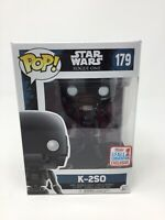 FUNKO POP! K-2SO STAR WARS ROGUE ONE 2017 NYCC EXCLUSIVE #179 + PROTECTOR