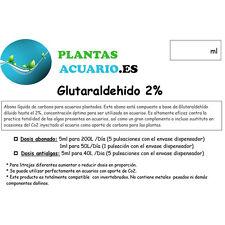 Glutaraldehido al 2.5% (Glutar 2%) Abono Antialgas  500ml