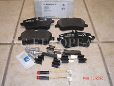 Mercedes W203 C-Class Genuine Front Brake Pad Set,Pads w/Sensors C230 C240 C320