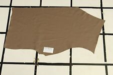 "Smooth ""Grullo"" Taupe-Brown Scrap Leather Hide Approx. 4.5 sqft. Q14Z10-7"