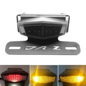 For Suzuki DRZ400S 400SM Fender Eliminator Tail Tidy LED Brake Light Turn Signal