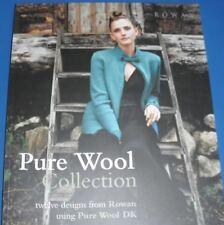 Rowan Pure Wool Collection 12 Designs Knitting Pattern Book