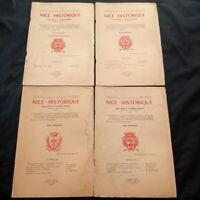 Nice Historique 4 revues Année 1971