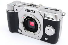 [EXC+++] Pentax Q10 Silver 12.4MP Mirrorless Digital Camera Body from Japan