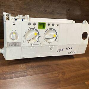 Junkers Schaltkasten Bedienfeld ZWN18-6 Leiterplatte 8748300554 ZWN18-6 KE21
