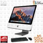 "Apple AIO All-in-one iMac 20"" Desktop Computer DUAL CORE DVD WiFi Office 2016"