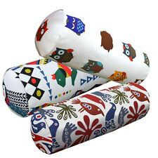 Bolster Cover*A-Grade Cotton Canvas Neck Roll Tube Yoga Massage Pillow Case*LL7