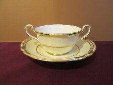 "SPODE STAFFORD SHAPE Y506 GOLD TRIM BOULLION CUP & SAUCER -2"" 1002B"