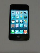 Apple iPod Touch 4th Generation 8GB Black Fair to good condition i10