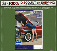 """Master Box 24016 """"A short stop"""" Girl PIN-UP series Kit № 2 Scale 1/24"""