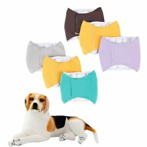 1PC Washable Pet Dog Diapers Adjustable Puppy Big dog Physiological Pants