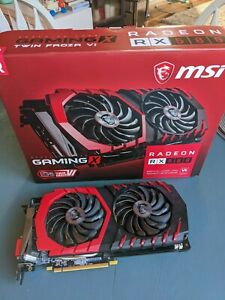 MSI Radeon RX 580 4GB Gaming X 4G GPU AMD Graphics Card Excellent Condition!