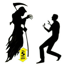 Scary Halloween Horror Fear The Reaper Scene Setter Add-on Kit Party Decoration