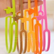 Practical Office Supply Silicone Finger Point Pointing Book Marker Bookmark