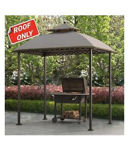 Sunjoy  Replacement Canopy For Pinehurst Gazebo 8X5 Ft.Original Version  Brown.