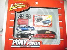 Johnny Lightning PONY POWER camaro cuda garage 1:64 tool box rack wheels diaroma