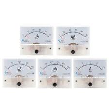 Analog Panel Amp Microamp Current Ammeter Meter Dc