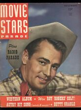 Movie Stars Parade Vol 7 #12 Nov 1947 Alan Ladd Cover Roy Gene Betty Grable VG