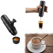 Handheld Portable Espresso Machine Coffee Maker Mini Camping Travel Mini 1-Cup