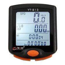 BoGeer - Compteur de Vitesse Filaire YT-813 avec Odomètre, Ecran LCD pour Vélo