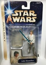 STAR WARS: A New Hope Luke Skywalker Tatooine Encounter (Hasbro 2004) NEW!