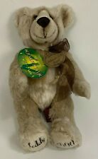 "Aurora Original Millennium Teddy Bear Jointed Beige Fur 15"" Limited Edition"