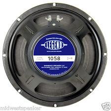 """Eminence LEGEND 1058 10"""" Guitar Speaker 8 ohm 75 Watt - FREE US SHIPPING!"""