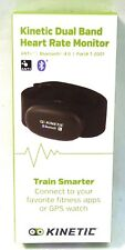 Kinetic Dual Band Wireless Heart Rate Strap and Sensor Bluetooth Smart and ANT+