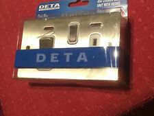 Deta 8154SCW 45A Cooker Control Unit With Neons Satin Chrome Finish With White