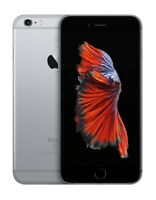 SPACE GRAY AT&T 64GB APPLE IPHONE 6S PLUS 6S+ SMART PHONE JT38 B