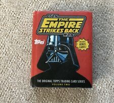 Star Wars: The Empire Strikes Back: The Original Topps Trading Card Series, Volu
