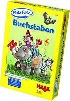 HABA Mitbringspiel Ratz Fatz - Buchstaben 4536 Lernspielesammlung  - ab 5 Jahre