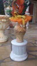 Säule, Sockel 23 cm Podest, Steinguss, Figurensockel, Gartenfiguren, Gartendeko