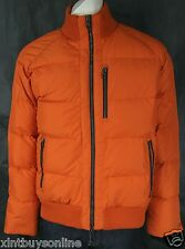 Victorinox Jacket Bomber Puffer  Jacket 8305 Cadmium Orange Made With Pertex