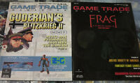 Game Trade Magazine Lot 2 Issues Alliance Role Playing Guderian's Blitzkrieg II