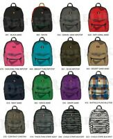 DICKIES I-27087 STUDENT BACKPACK New School Bag Black Grey Navy Red Green Purple