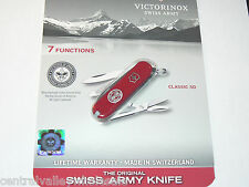 New Victorinox Swiss Army 58mm Knife  CLASSIC SD BSA Eagle Scout   54401