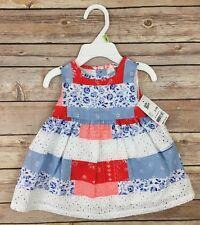 OshKosh Baby Bgosh Dress Set Size 0-3 Months Patchwork...