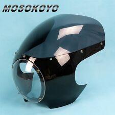 "5 3/4"" Motorcycle Viper classic Drag Cafe Racer Headlight Mask Fairing Universal"
