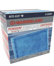 6 Pack Marineland Rite Size C Cartridge Penguin Bio Wheel 170b 200b 330b 350b