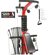 GYM 6 RING ADJUSTABLE STIRRUP handle Strap Cable Machine Attchment Tricep Bicep