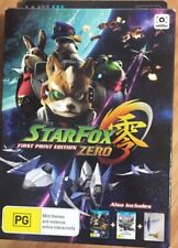 Star Fox Zero First Print Edition Wii U- Opened, Never Used