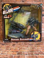 GI Joe vs Cobra Ocean Assault Wet Suit Missile Launche 12 Figure 2001 Hasbro NIB
