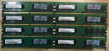 HP PN 377725-888 4GB (8 x 512MB) PC2-5300U-555 Memory Lot of 8