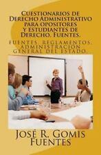 Cuestionarios de Derecho Administrativo para Opositores y Estudiantes de...