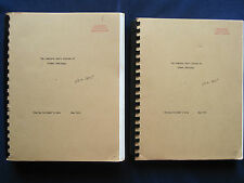 COMPLETE SHORT STORIES by ERNEST HEMINGWAY Book of the Month Club Ms. 2 vol. 1st