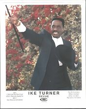 R&B/BLUES PUBLICITY PHOTO: IKE TURNER with baton (color 8x10))